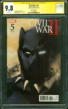 Civil War II 5 CGC SS 9.8 Noto Black Panther Variant 2019 Avengers Movie