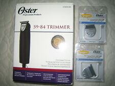 Tondeuse à Cheveux / hair trimmer Oster 59-84 (T-finisher) + 2 lames/blades