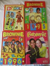 More details for book bundle 4 x brownie annuals 1989, 1995,1996, 2010, girl guides activity book