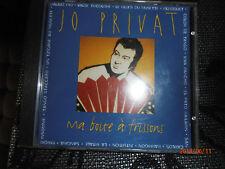 Jo PRIVAT Ma boîte à frissons CD 16 titres
