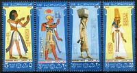 UAR Egypt 1969, Post day, Costumes Pharaonic period II set VF MNH, Mi 903-06, 7€