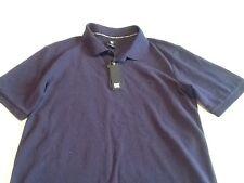 mens blue DC shoe size small polo shirt