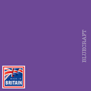 100 sheets x 12 inch Square Vanguard Purple Craft Card 240gsm - 305 x 305mm