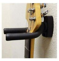 SKL Guitar Hanger Hook Holder Wall Mount Display, Black - NEW