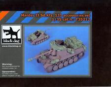 Blackdog Models 1/35 MARDER II Sd.Kfz 131 TANK DESTROYER ACCESSORIES Resin Set