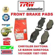 Für Chrysler Daytona Le Baron Saratoga Voyager 1987-1995 Vorne Brems Scheiben