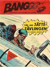 Vintage Rare 1967 No.12  Banggg Comics Magazine In Swedish Featuring Dan Cooper