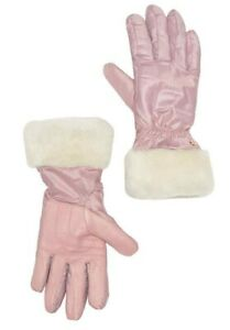 NWT UGG Women's Shearling Cuff Smart Tech Enabled Gloves Pink L/XL