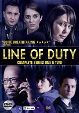 Line Of Duty . The Complete Series One & Two . Season 1-2 . 4 DVD . NEU . OVP