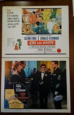1960 Original Lobby Card Set (8) - Cry For Happy - 11x14, Complete, Near Mint
