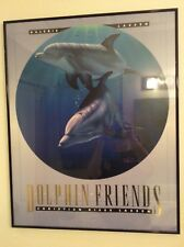 Christian Riese Lassen Dolphin Friends print/ poster  24 x 30