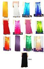 Saree Indian Bollywood Satin Stitched Sari Petticoat Underskirt Lining InSkirt