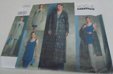 V2843 Vogue Wardrobe Ladies Shawl,Pants,Skirt,Jacket,Tunic Sewing Patte Sz 20-24