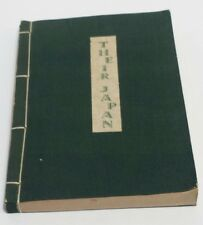 Their Japan 1936 Frederic de Garis Yoshikawa Yokohama James W Vaughan