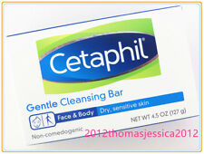 Cetaphil Gentle Cleansing Bar for Dry / Sensitive Skin 127g / 4.5oz Made in USA