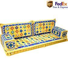 Arabic Decor Sofa Turkish Set Oriental Sofas Jalsa Floor Cushions Yellow FOAM