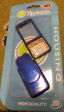 Brand New Sealed - Nokia N73 - Blue-Housing - Front Fascia & Back Cover