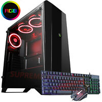 GAMING PC Intel i7 3.4 Ghz New 240 SDD 16 GB RAM Windows 10 RGB