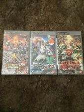 All Kamen Rider PSP Lot Rider Generation 2  Super Climax Heroes Fourze New Used