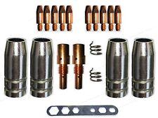 Verschleissteile Set für MB25 / 250 mit Gasdüsen,Düsenstock und 0,8mm Stromdüsen
