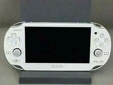 Playstation vita CRISTAL WHITE Wi-Fi Model PCH-1000 ZA02 PS VITA Pre-owned F/S