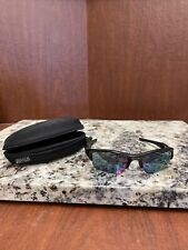 Oakley Flak 1.0 Black/green Frame W/ Iridium Lenses Sunglasses 24-365 Polarized