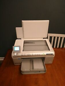 HP Photosmart C6380 All-In-One Inkjet Wireless Printer in Great Used Condition
