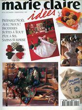 Revue comme NEUVE  Marie Claire Idées  n°19 DECEMBRE  1995