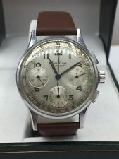 Breitling Premier Chronograph #787 1945 Serial Number, 35mm Stainless Case