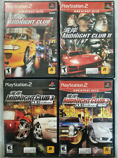 Midnight Club games (Playstation 2) Ps2 Tested