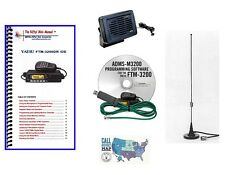 Yaesu FTM-3200DR VHF C4FM Mobile Radio Accessory Bundle