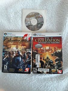 Civilization IV Colonization  Beyond the Sword Expansion Pk Warlords PC CD-ROM