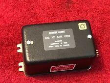 BENDIX/KING KRG 331 RATE GYRO P/N 060-0024-00