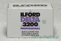 5 rolls ILFORD DELTA 3200 Professional 35mm 36exp Black and White Film