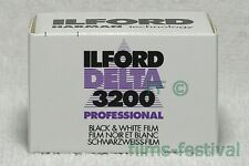 5 rolls ILFORD DELTA 3200 Professional 35mm 36exp Black and White Film