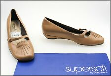 DIANA FERRARI SUPERSOFT WOMEN'S LOW HEELS SHOES SIZE 6 C WORN ONCE