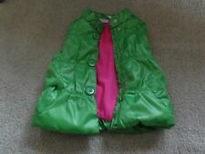 Kids Headquarters, green Polyester Filled Winter Vest, Size 5