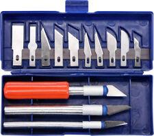 Toya 16-tlg. Präzisionsmessersatz Schnitzmesser Cutter Messer Bastelmesser