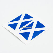 2x SCOTLAND FLAG Saltire Laminated Car,Window,Bumper,Laptop Vinyl Decal Stickers