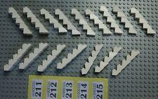 80 Lego White 1x2 & 2x2 45 Slopes & 35 inverted 45º #Y211-5