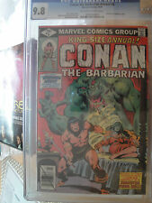 conan annual 5 CGC 9.8 white 1979