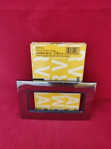 VIMAR 20649 5 MODULE CHROME FRONT PLATE NEW