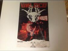Cd lp Unloco Promo Poster 17x11 heavy band music vintage record.