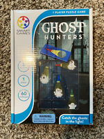 Ghost Hunters - Smart Games - 1 Player Puzzle Game - Catch The Ghosts In Light