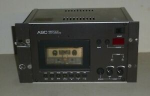 Compact Multi-Channel Recorder ASC 200D Professionelle Cassetten-Dokumentation