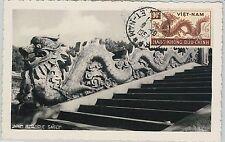 62894 -  VIETNAM - POSTAL HISTORY: MAXIMUM CARD 1952 -  DRAGON!