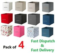 IKEA DRONA Box Fabric Storage Expedite Kallax Shelving Boxes Toys Magazine Books