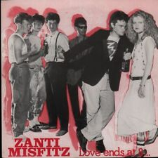 "Zanti Misfitz(7"" Vinyl)Love Ends At 8-Clay-CLAY 13-UK-1982-M/M"