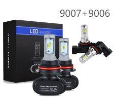 For Ford F150 1997-1998 9007 HB5 LED Headlight & Foglight Bulbs 9006 F-150 White