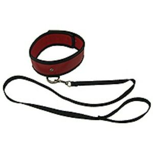 Sportsheets red collar & Leash (CO-61-RED), FREE UK DELIVERY